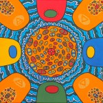 Mandala aux 4 éléments eau